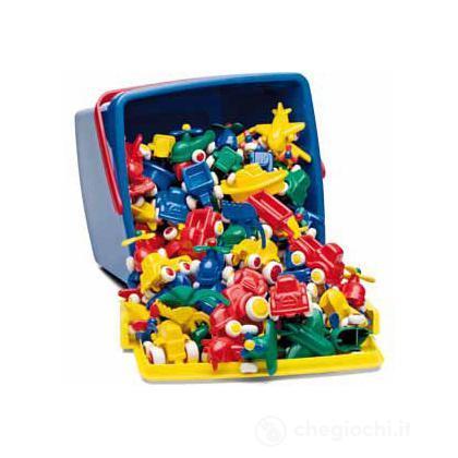 Mini chubbies buckets: set 125 pezzi - Secchiello