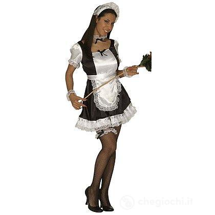 Costume Adulto Cameriera domestica XL