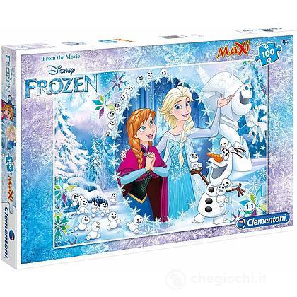Frozen Puzzle 100 Pezzi Maxi (0625044)