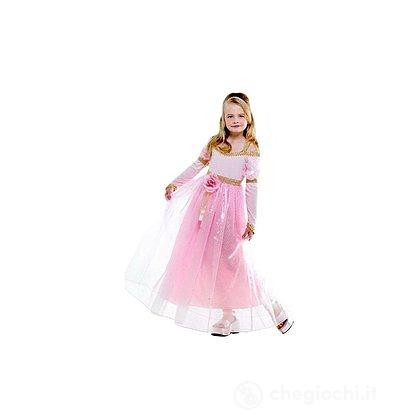 Costume Principessa rosa M 8-10 anni