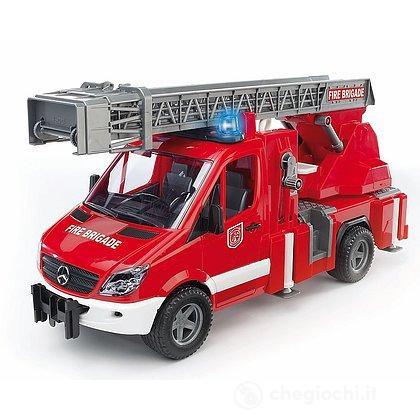 Autopompa pompieri con luci e suoni (2532)