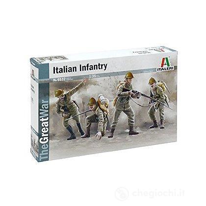 Fanteria italiana 1 Guerra Mondiale 1/35 (IT6532)