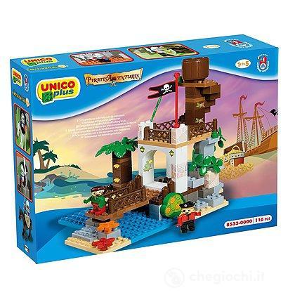 Unico Plus Torre dei Pirati 116 pezzi (104114317)