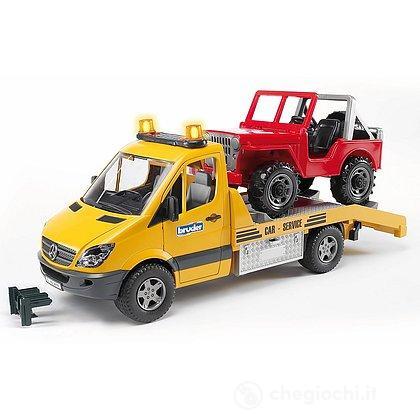 Mercedes Benz Sprinter con jeep (2535)