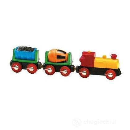Treno con vagoni basculanti
