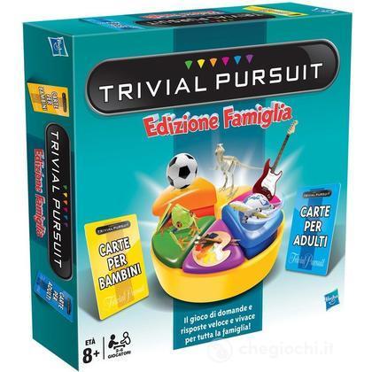 trivial pursuit family edition 73013 giochi da tavolo. Black Bedroom Furniture Sets. Home Design Ideas