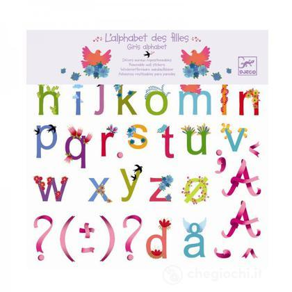 Alfabeto ragazze - Adesivi