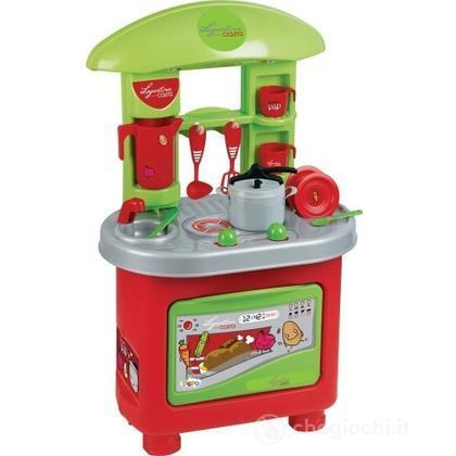 Cucina lagostina con pentola a pressione cucina faro giocattoli - Cucina legno bambini usata ...
