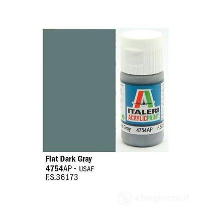 Colore grigio Flat Dark Gray 20 ml (4754AP)