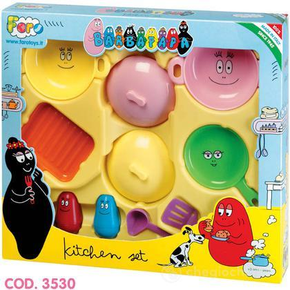 Barbapapà kitchen set