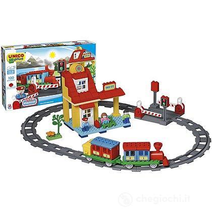 Unico Plus Stazione del Treno 100 pezzi (104114314)
