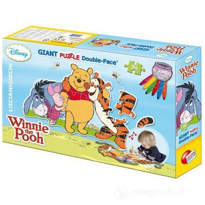 Puzzle color plus gigante sagoma Winne