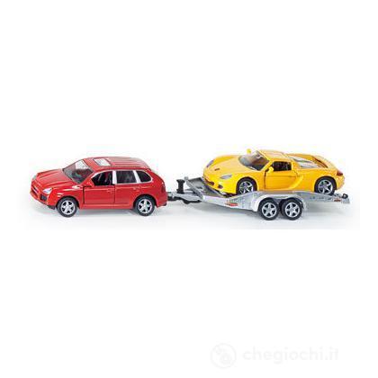 Auto con rimorchio + auto 1:55