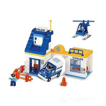 Unico Plus Stazione Polizia 80 pezzi (104114303)