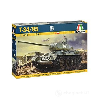 Carro armato T 34-85. Scala 1/35 (IT6545)