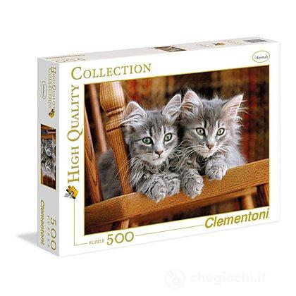 Kittens 500 pezzi High Quality Collection (30545)