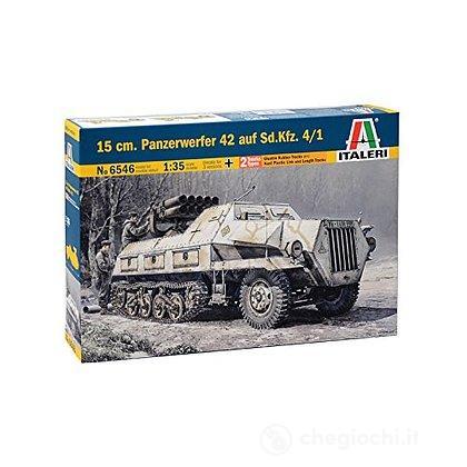 Carro armato Sd.Kfz. 4/1 15 Cm. Panzerwerfer 42 1/35 (IT6546)