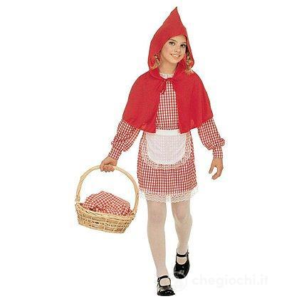 Costume Cappuccetto Rosso 5-7 anni