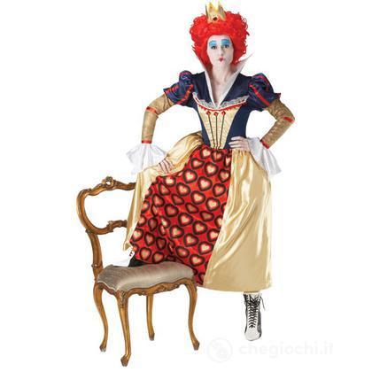 Costume Regina di Cuori adulto taglia L 46 (889954)