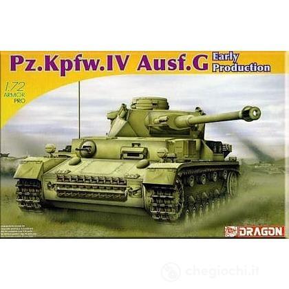 Carro armato PZ.KPFW.IV AUSF. F2 1/72 (DR7549)
