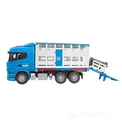 Camion Scania R-series trasporto bestiame (03549)