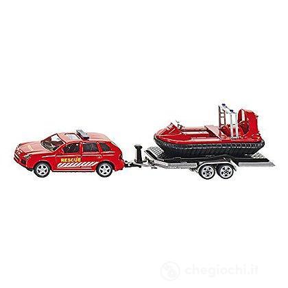 Auto con rimorchio hovercraft 1:50 (2549)