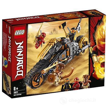 La moto da cross di Cole - Lego Ninjago (70672)