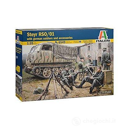 Steyr RSO/01 con soldati tedeschi 1/35 (IT6549)