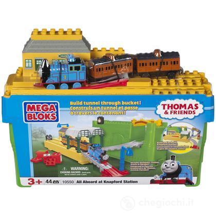 Thomas & Friends Secchiello Stazione Knapford - 44 pezzi  (10550)