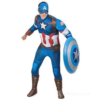 Costume Adulto Capitan America taglia XL (810287)