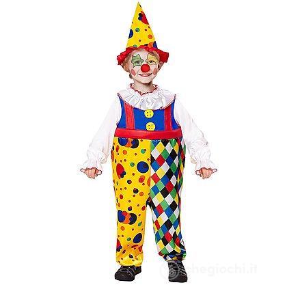 Costume clown 2-3 anni