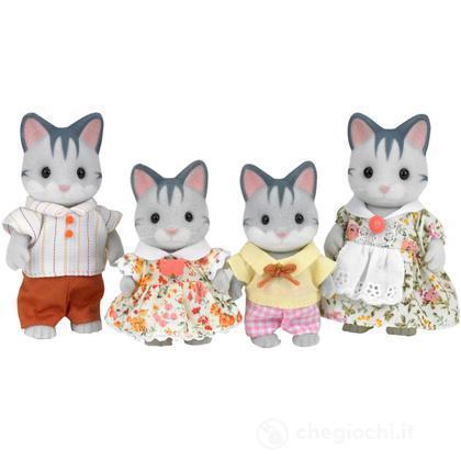 Famiglia gatti grigi (3551)