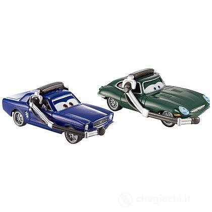 Brent Mustangburger e Leland Turbo Cars 2 Pack (DHL13)