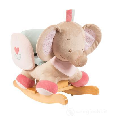 Dondolo Elefante Nattou.Dondolo Elefante Rose 655521