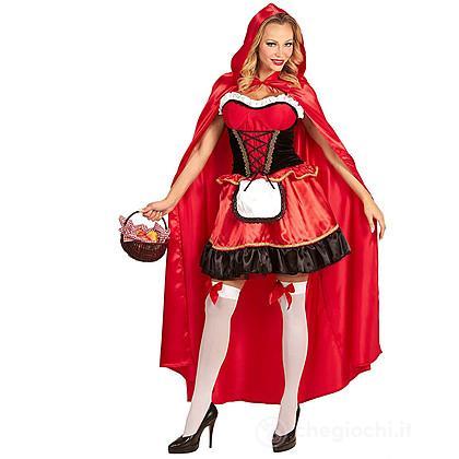 Costume Adulto Cappuccetto Rosso M