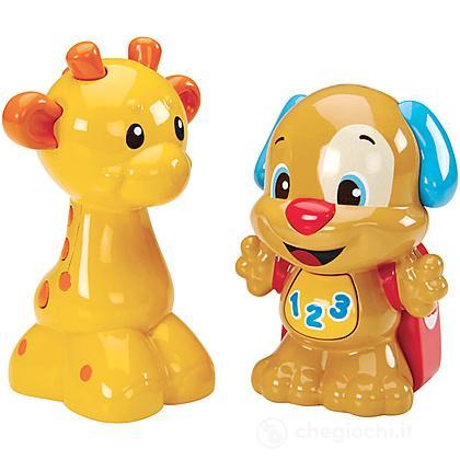 Le coppie degli animali Cagnolino e Giraffa (CGY26)