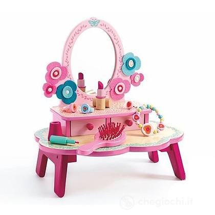 Tavolo con specchiera Flora (DJ06553)