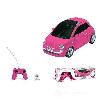 Fiat 500 Rosa Radiocomandata 1: 24