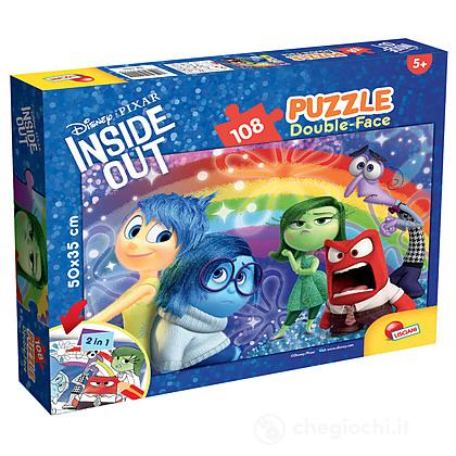 Puzzle Double Face Plus 108 Inside Out Emotions Rainbow (55555)