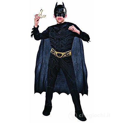 Costume Batman In Scatola Con Batarang Taglia L