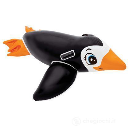 Pinguino cavalcabile gonfiabile