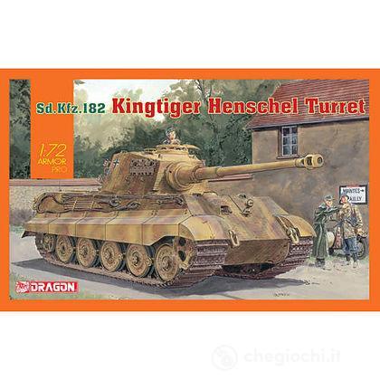 Carro Armato KINGTIGER HENSCHEL 1/72 (DR7558)