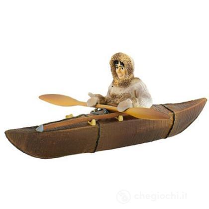 Inuit: Inuit cacciatore con Kayak (54558)