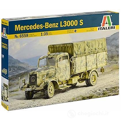Camion militare 2 Guerra Mondiale Mercedes - Benz L3000 1:35 (IT6558)