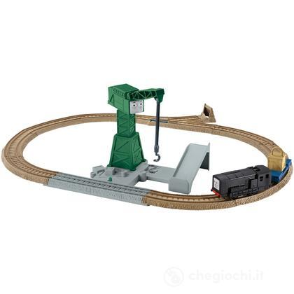 Thomas e Friends - Cranky Action Chargement Trackmaster (BDP10)