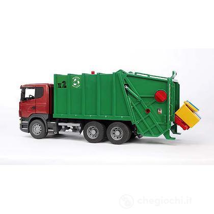 Camion Scania R rifiuti verde (3561)