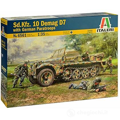 Mezzo militare Sd.Kfz. 10 Demag D7 1:35 (IT6561)