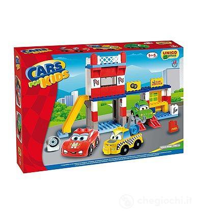 Unico Plus Cars for kids officina 108 pezzi (104114322)