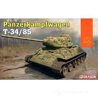Carro Armato PANZERKAMPFWAGEN T-34/85. Scala 1/72 (DR7564)