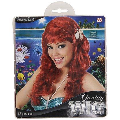 Parrucca rossa sirena